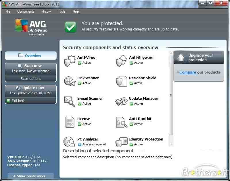 AVG LinkScanner Free Edition 2011 10.0.1321AVG LinkScanner Free Edit
