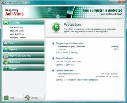 Kaspersky Anti-Virus Definition Complete Update 08162009